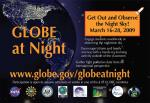 Projekt Globe at night