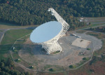 Radioteleskop Green Bank Telescope (GBT, West Virginia, USA)