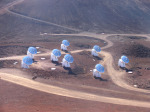 Radioteleskop Submillimeter Array Foto: The Submillimeter Array, Hawaii